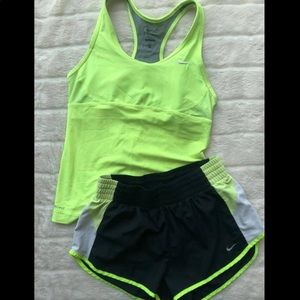 Nike Dri-fit workout set